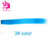 Fashion hair extension for women Long Synthetic Clip In Extensions Straight Hair piece Party Highlight Punk Cosplay Colorful big bowknot girl hair band satin ribbon girl barrette unicorn hairpins colorful bow hair clip fashion hair accessories 12cm