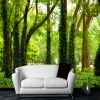 3D-пейзажная стена Mural Forest Photo Wallpaper Custom Wall Paper Natural Murals Papel De Parede Постельное белье Room Sofa TV Backdrop custom tree bark textures wallpaper restaurant living room tv sofa wall background children bedroom 3d mural papel de parede