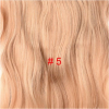 Long Wavy Clip in Synthetic Hair Extensions 24 inch 190G/PC 4 Clips Heat Resistant Fiber 17 Colors For Women medium long wavy heat resistant fiber hair white lace front synthetic wig
