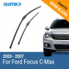 SUMKS Wiper Blades for Ford Focus C-Max 26&19 Fit Side Pin Arms 2003 2004 2005 2006 2007 wiper blades for ford c max 26