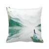 Castle Buddha Shadow Chinese Polyester Toss Throw Pillow Square Cushion Gift 8pk aqua kem toss in