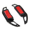 Racing W204 Metal Paddle Steering Wheel Shift Shifter Extension paddle shift runba ice silk steering wheel cover sets with red thread