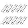 Fillinlight 10PCS Pack Silver Rectangle Lighter Shape USB Flash Drive USB 2.0 Pen Drive Flash Drive ourspop u018 metal usb 2 0 flash drive green silver 4gb