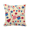 USA Candy Gift Festival Flower Love Heart Square Throw Pillow Insert Cushion Cover Home Sofa Decor Gift flower plush stuffed pillow creative gift lovely cushion