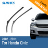SUMKS Wiper Blades for Honda Civic 26&23 Fit Hook Arms 2006 2007 2008 2009 2010 2011