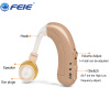 Rechargeable BTE hearing aid aids C-109 Analogue hearing sound voice amplifier O-N-H Adjustment aparelho auditivo hearing device hearing aid analog behind the ear clear sound amplifier enhancement headphone deaf aids s 268 aerophone earplugs