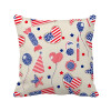 USA Balloon Candy Heart Flag Star Festival Square Throw Pillow Insert Cushion Cover Home Sofa Decor Gift modern 90 10 cm oil rubbed bronze style deodorization grate waste floor drain floor mounted