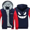 2018 New USA SIZE Anime Pokemon Go Pocket Monster Gengar  Coats Men's Hoodies Sweatshirts Winter Thicken Fleece Clothing new cartoon pikachu cosplay cap black novelty anime pocket monster ladies dress pokemon go hat charms costume props baseball cap
