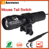 LED Bicycle Front Light LED Flashlight Cycling Headlamp Powerful Zoom Torch Holder Pressure Switch Bike Portable Light