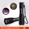 Zoom LED Flashlight 18650 Rechargeable CREE T6 High Power Police Flashlight Camping Portable Light Cycling Bicycle Torch