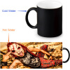 DJ BL3ND 350ml/12oz Heat Reveal Mug Color Change Coffee Cup Sensitive Morphing Mugs Magic Mug Milk Tea Cups термокружка emsa travel mug 360 мл 513351