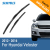 SUMKS Wiper Blades for Hyundai Veloster 26&18 Fit Hook Arms 2012 2013 2014 2015 2016 sumks wiper blades for hyundai trajet 26