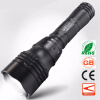 Diving Scuba Zoom LED Flashlight Underwater CREE Q5 Powerful LED Portable Light 18650 Rechargeable Handy Torchlight 100m underwater diving flashlight led scuba flashlights light torch diver cree xm l2 use 18650 or 26650 rechargeable batteries