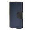 MOONCASE чехол для Samsung Galaxy S6 Edge PU Leather Flip Wallet Card Slot Stand Back Cover Blue keymao luxury flip leather case for samsung galaxy s7 edge