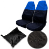 Premium Waterproof Bucket Seat Cover (1 Piece) Universal Fit for Most of Cars Trucks Suvs Black Car Seat Protector mopar 4801490aa auto part