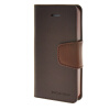 MOONCASE чехол для iPhone 5G / 5S PU Leather Flip Wallet Card Slot Stand Back Cover Coffee mooncase чехол для iphone 6 plus 5 5 pu leather flip wallet card slot stand back cover coffee