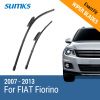 SUMKS Wiper Blades for FIAT Fiorino 26&19 Fit Bayonet Arms 2007 2008 2009 2010 2011 2012 2013 car rear trunk security shield shade cargo cover for nissan qashqai 2008 2009 2010 2011 2012 2013 black beige