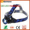 Zoom LED Headlamp Rechagrebale Q5 Headlight High Power Olight LED Headtorch Super Bright Bicycle Cycling Hiking Camping