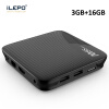 iLEPO M8S Pro L Android 7.1 Smart TV Box Amlogic S912 64 bit Quad Core H.265 4K HD WiFi TVcenter 17.3 IPTV Set-top Player Box mx plus amlogic s905 smart tv box 4k android 5 1 1 quad core 1g 8g wifi dlna потокового tv box