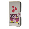 MOONCASE Owl style Leather Wallet Flip Card Slot Stand Pouch чехол для HTC Desire 620 A15 luxury stand flip