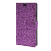 MOONCASE Lovely pattern Leather Wallet Flip Card Slot Bracket Back чехол для Microsoft Lumia 640 Purple mooncase чехол для microsoft lumia 640 xl pattern series leather flip wallet card slot stand back cover