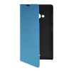 MOONCASE Slim Leather Side Flip Wallet Card Slot Pouch with Kickstand Shell Back чехол для Nokia Lumia 535 Blue mooncase slim leather side flip wallet card slot pouch with kickstand shell back чехол для nokia lumia 535 mint green
