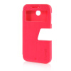 MOONCASE Ultra Slim Leather Side Flip Pouch Stand Thin Shell Back ЧЕХОЛДЛЯ HTC Desire 510 Hot pink