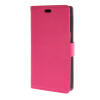 MOONCASE Litch Skin Leather Card Slot Wallet Bracket Back чехол для HTC Desire 320 D320 Hotpink htc desire 320 8gb dark gray