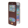 MOONCASE View Window Leather Side Flip Pouch Stand Shell Back ЧЕХОЛДЛЯ Apple iPhone 6 Plus Red mooncase view window leather side flip pouch stand shell back чехолдля apple iphone 6 plus white