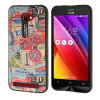 MOONCASE чехол для Asus Zenfone 2 ZE500CL ( 5.0 inch ) Pattern series Flexible Soft Gel TPU Silicone Skin Slim Durable Cover аксессуар чехол накладка asus zenfone 2 ze500cl pulsar clipcase pc soft touch black pcc0038