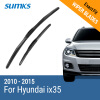 SUMKS Wiper Blades for Hyundai IX35 24&16 Fit Hook Arms 2010 2011 2012 2013 2014 2015