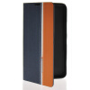 MOONCASE Business style Leather Side Flip Wallet Card Slot Pouch Stand Back чехол для Nokia Lumia 1320 Sapphire