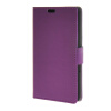 MOONCASE Simple Leather Flip Wallet Card Slot Stand Back чехол для Sony Xperia E4 Purple mooncase simple leather flip wallet card slot stand back чехол для sony xperia m4 aqua blue