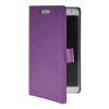 MOONCASE Slim Leather Flip Wallet Card Pouch with Kickstand Shell Back ЧЕХОЛ ДЛЯ Samsung Galaxy Note 3 Lite N7505 Purple цена