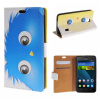 MOONCASE Huawei Ascend Y635 ЧЕХОЛ ДЛЯ Flip Wallet Card Slot Stand Leather Folio Pouch /a03 boxwave huawei g6310 bamboo natural panel stand premium bamboo real wood stand for your huawei g6310 small