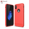 For iPhone x Funda Business Carbon Fiber Soft Silicone Shockproof Protective Back Case Armor For iPhone X 8 7 6 5 SE Case stylish protective silicone back case for iphone 5c grey