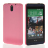 MOONCASE Hard Rubberized Rubber Coating Devise Back чехол для Htc Desire 610 Pink