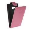 MOONCASE Smooth skin Leather Bottom Flip Pouch чехол для Nokia Lumia 730 Hot pink mooncase smooth skin leather bottom flip pouch чехол для nokia lumia 730 white
