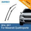SUMKS Wiper Blades for Maserati Quattroporte 26&18 Fit Push Button Arms 2014 2015 2016 2017