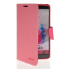 MOONCASE Classic cross pattern Leather Side Flip Wallet Card Pouch Stand Soft Shell Back чехол для LG G3 Pink mooncase classic cross pattern leather side flip wallet card pouch stand soft shell back чехол для lg g2 mini hot pink