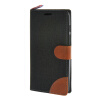 цена на MOONCASE ASUS Zenfone 5 , Leather Wallet Flip Card Holder Pouch Stand Back ЧЕХОЛ ДЛЯ ASUS Zenfone 5 A501CG Black