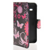 MOONCASE Butterfly style Leather Side Flip Wallet Card Slot Stand Pouch чехол для Samsung Galaxy Star 2 Plus G350E samsung star 2 киев