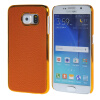 MOONCASE Litchi Skin золото Chrome Hard Back чехол для Cover Samsung Galaxy S6 Orange mooncase litchi skin золото chrome hard back чехол для cover lg g4 orange