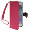MOONCASE Litch Skin Leather Side Flip Wallet Slot Pouch Stand Shell Back ЧЕХОЛДЛЯ Apple iPhone 6 ( 4.7 inch ) Hot pink mooncase premium pu flip leather wallet card pouch back чехол для cover apple iphone 6 4 7 красный