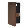 MOONCASE Slim Leather Side Flip Wallet Card Slot Pouch Stand Shell Back ЧЕХОЛ ДЛЯ Motorola Moto Droid Turbo XT1254 Coffee mooncase classic cross pattern leather side flip wallet card pouch stand soft shell back чехол для motorola moto g black