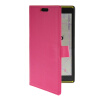 Фото MOONCASE Slim Leather Flip Wallet Card Pouch with Kickstand Shell Back ЧЕХОЛДЛЯ Nokia Lumia 1520 Hot pink