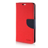 MOONCASE Cross pattern Leather Side Flip Wallet Card Slot Pouch Stand Shell Back ЧЕХОЛ ДЛЯ Samsung Galaxy A7 Red mooncase soft silicone gel side flip pouch hard shell back чехол для samsung galaxy s6 grey