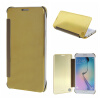 MOONCASE Samsung Galaxy S6 Edge Plus ЧЕХОЛ ДЛЯ Hard Plastic Design Flip Pouch Gold mooncase samsung galaxy s6 edge plus чехол для hard plastic design flip pouch green