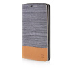 MOONCASE Canvas Design Leather Side Flip Wallet Pouch Stand Shell Back ЧЕХОЛДЛЯ LG G2 Dark Brown made in japan leather coin case purse pouch wallet 1312 orange•dark brown