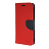 MOONCASE Cross pattern Leather Flip Wallet Card Slot Stand Back чехол для Sony Xperia M4 Red mooncase чехол для sony xperia m4 aqua wallet card slot with kickstand flip leather back hot pink